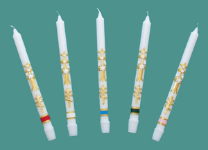 55-4S Decorated Candles