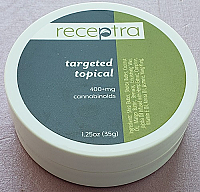Receptra Targeted Topical 400mg CBD
