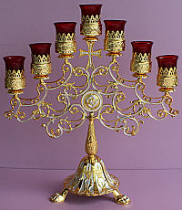 CL-913 Table Model 7 Branch Candle Stand