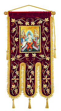 B-2177 Banner with Resurrection Icon