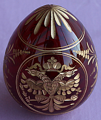 PWE-F Crystal Etched Egg