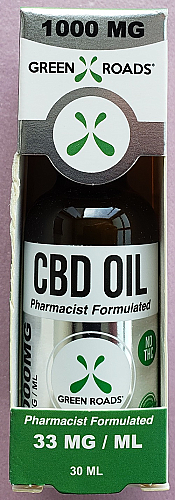 GRW CBD Oil 1000mg