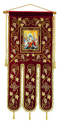B-2178 Banner with Resurrection Icon
