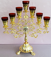 CL-914 Table Model 7 Branch Candle Stand