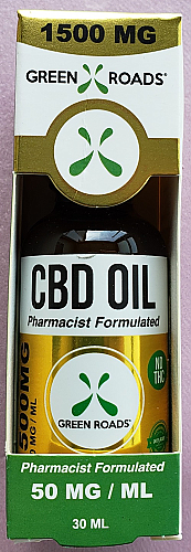 GRW CBD Oil 1500mg