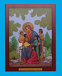 IC-800 Christ with Children Icon