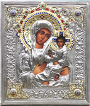 IC-640 Our Lady of Tichvin Icon